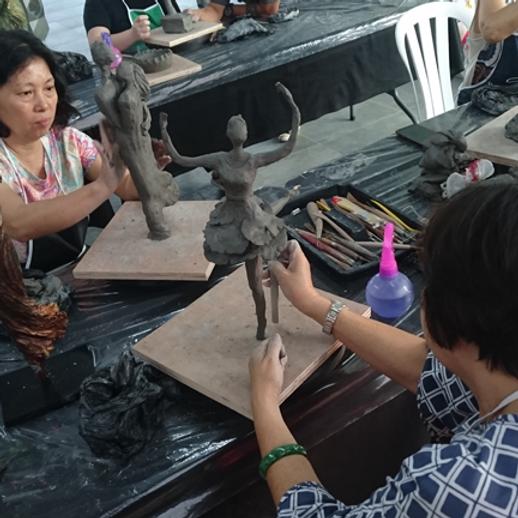 Clay Sculpting Class
