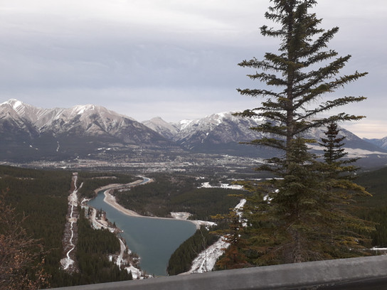 Canmore Town Overview