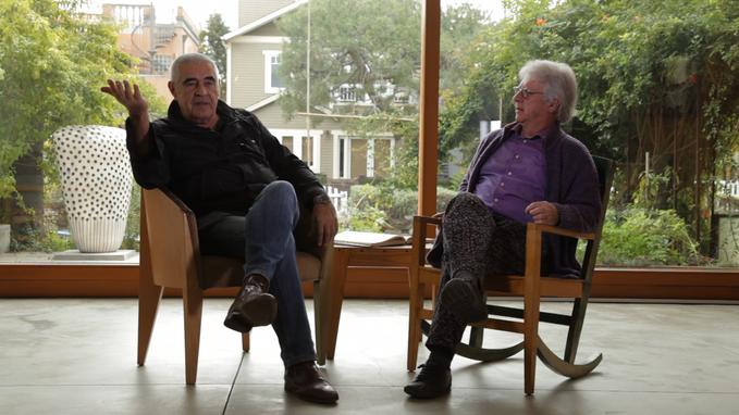 Peter Noever, former director MAK, Vienna and prof. Mark Mack, Architect