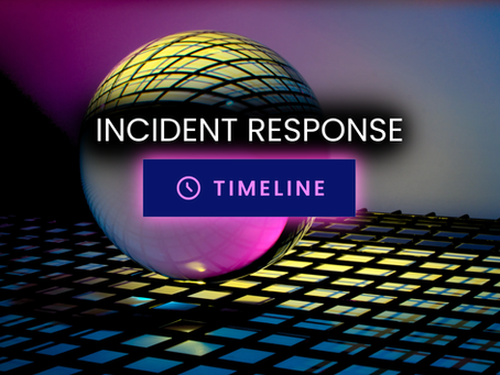 Incident Response Timeline Tool: Cut Hours Down to Seconds