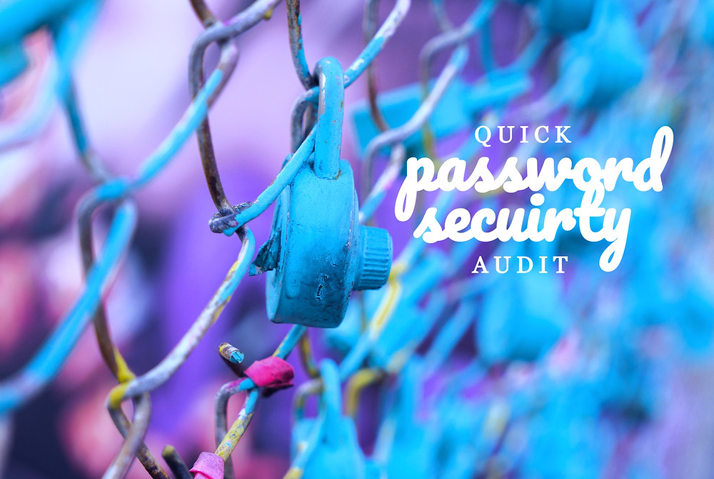 Quick password audits for security