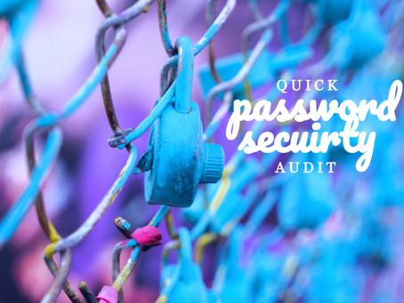 Quick Password Security Audit With Gigasheet