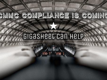 CMMC Compliance Is Coming. Gigasheet Can Help.