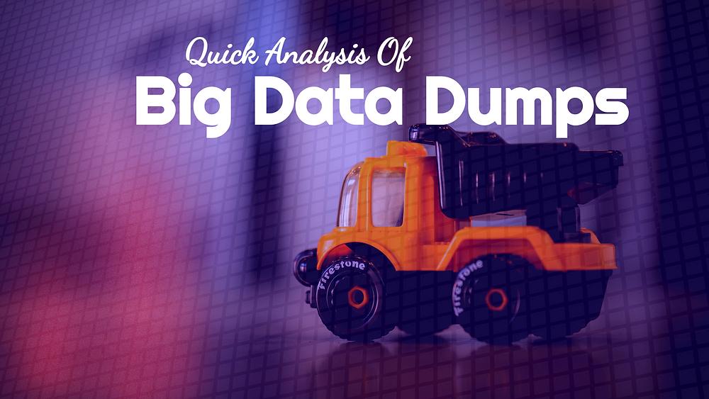 Big Data Dump Analysis