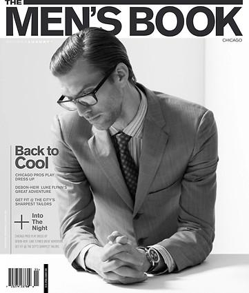 Men's Book Magazine Cover