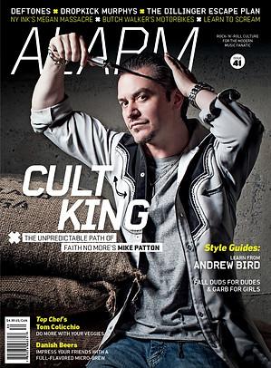 Alarm Magazine Issue 41 Cover