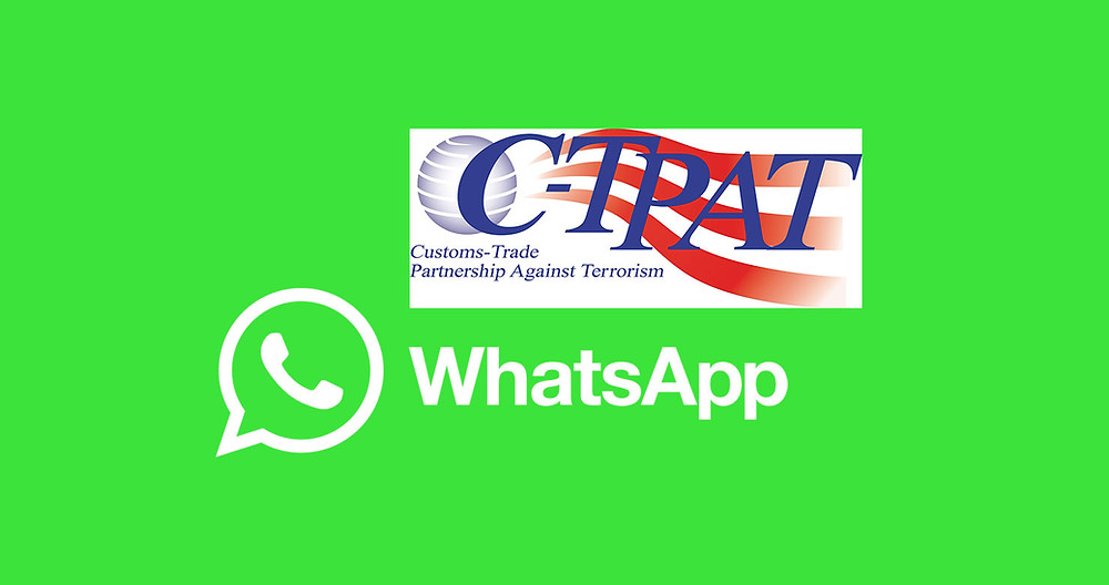C-TPAT Cyber Alert on WhatsApp