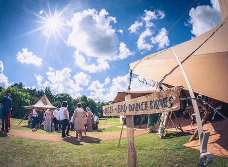 Preparing your field or outdoor venue for your first wedding...