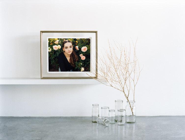professional model photographer brisbane: framed print product of modeling portfolio