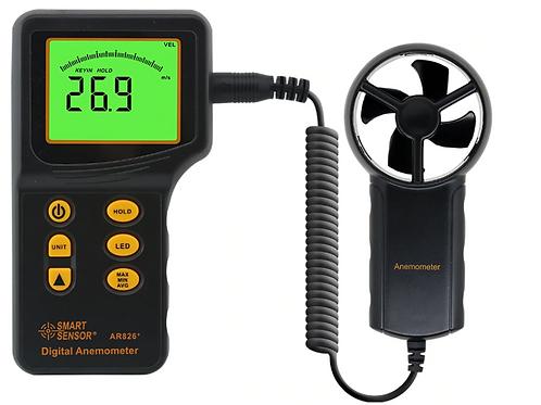 SMART SENSOR Multifunctional Digital Anemometer