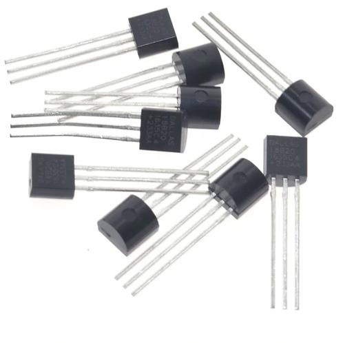 DS18B20 18B20 TO-92 IC Temperature Sensor