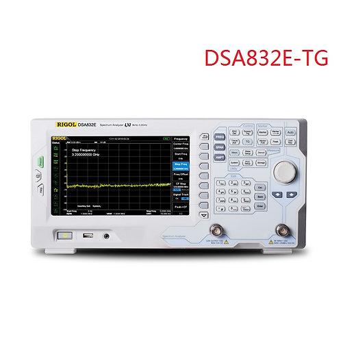 RIGOL DSA832E-TG  Spectrum Analyzer 9kHz to 3.2GHz with Tracking Generator