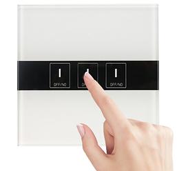3-gang Led 600W/gang Ewelink Wifi Switch