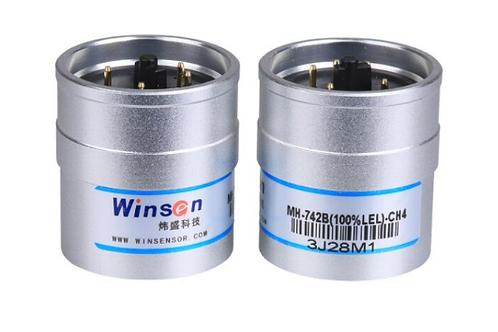 NDIR CH4 gas detection Intelligent infrared methane gas sensor