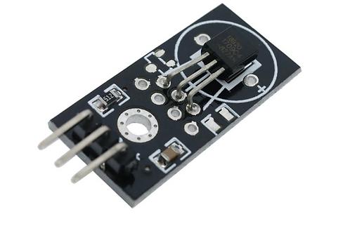 DS18B20 single-bus digital temperature sensor