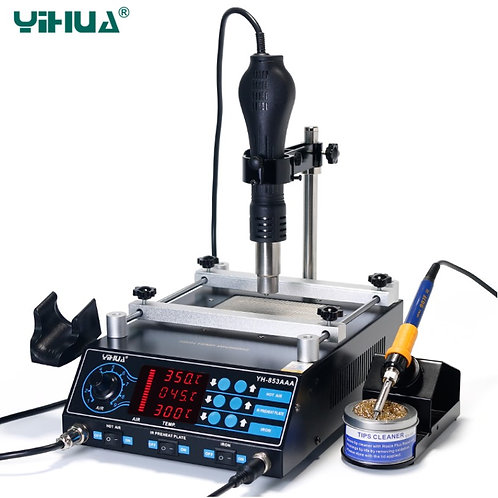 YIHUA 853AAA 1350W Preheating Station PCB Preheater Soldering Station
