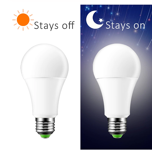 E 27 Dusk to Dawn Smart Lamp Bulb