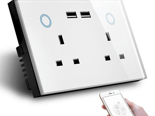 WIFI Smart USB Wall Socket