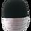 Thumbnail: Lavender w/ White satin stripe 100% Cotton Mask w/Filter Pocket