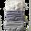 Thumbnail: White-Lavender Twill-Purple Check Multiset - 100% Cotton Mask w/Filter