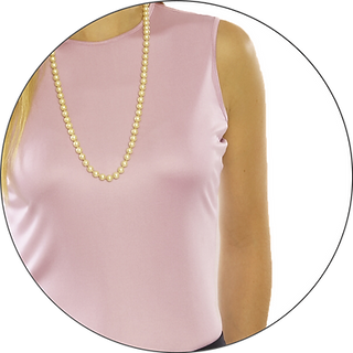 Custom Silk Jesey Sleeveless