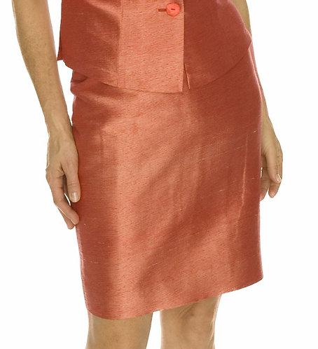 Straight Skirt w/ Waistband