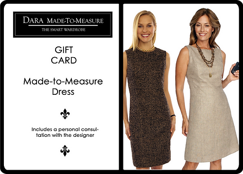 Gift Certificate for DARA Made to Measure Dress