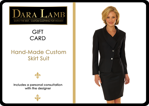 Gift Card - DARA LAMB Bespoke Skirt Suit