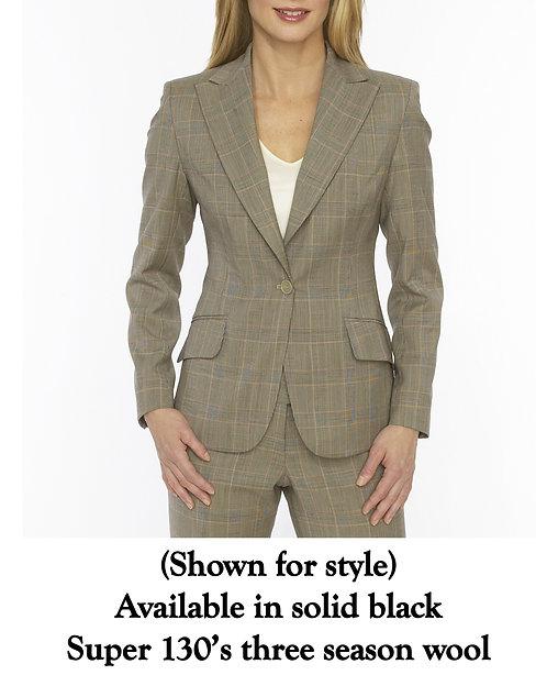 Peak Lapel 1 Button Jacket - Regularly $1295, NOW