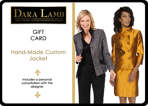 Gift Certificate for DARA LAMB Custom Jacket