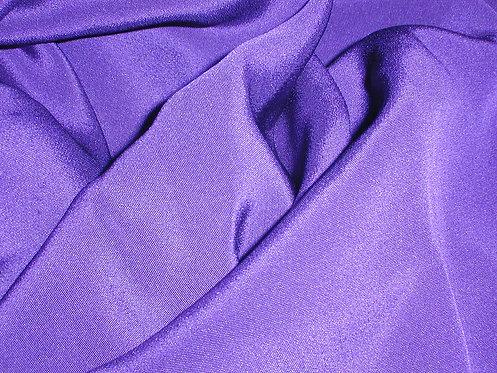 Purple Silk Crepe-S386