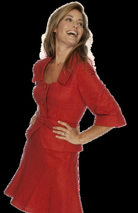DARA LAMB Custom Red Spring Skirt Sut