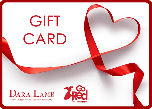 $250 GO Red for Women Gift Card