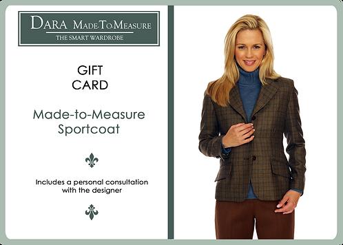 DARA Made-to -Measure Gift Certificate - Sportcoat
