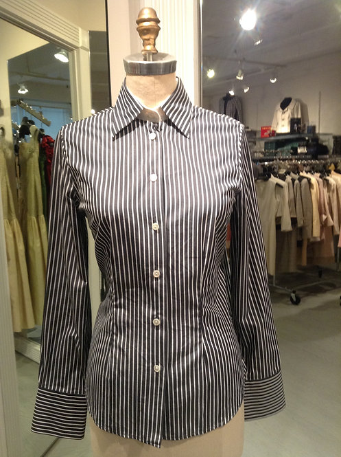 Button Front Shirt Style Blouse