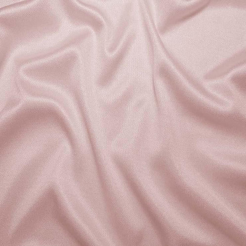 Shirred V-Neck - Ice Pink