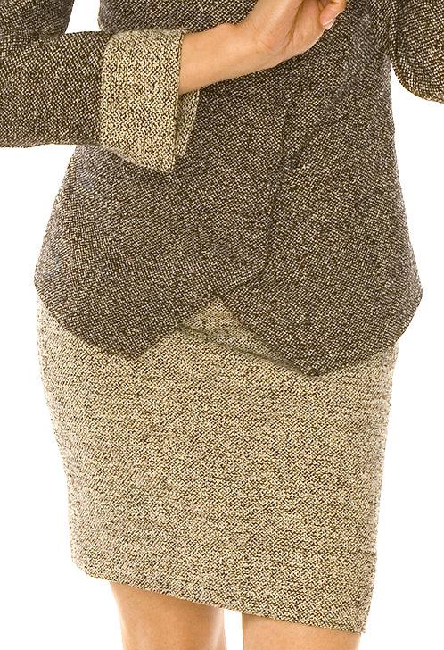 copy of Asymmetrical Cut-Away Jacket