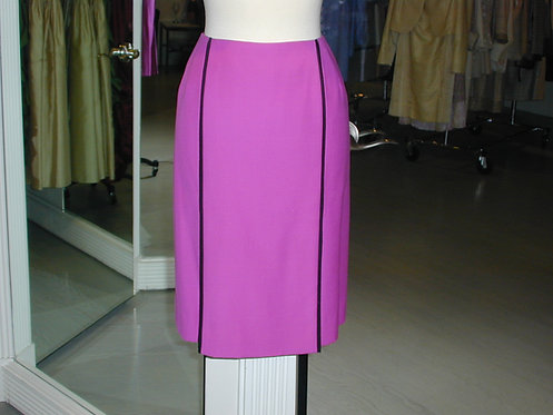 Straight Paneled Skirt