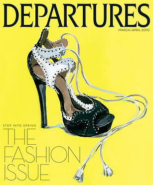 Bespoke Fashion in Departure Magazine