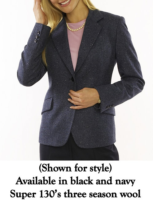 Notch Lapel 2 Button Jacket - Regularly $1295, NOW