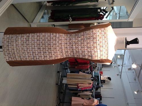 Square Boatneck Sheath Dress