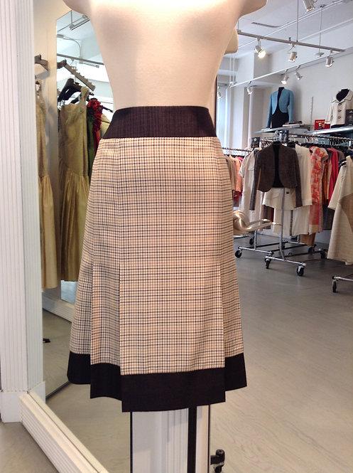 Pleated Skirt w/ Yoke