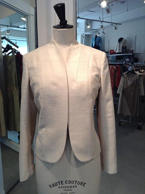 High Neck Open Jacket
