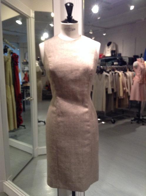 Round Neck Sheath Dress