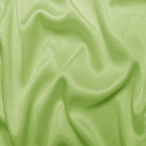 Shirred V-Neck - Apple Green