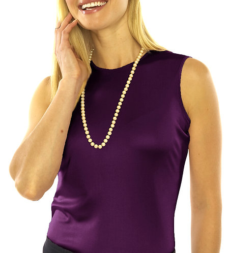 Round Neck - Royal Purple