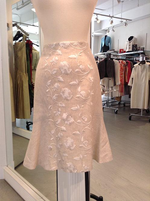 Paneled Skirt w/ Flare Panels