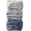 Thumbnail: Blue Stripe-Blue Check-Blue Twill Multiset - 100% Cotton Mask w/Filter