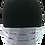 Thumbnail: Light Blue 100% Cotton Mask w/Filter Pocket