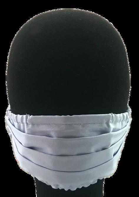Light Blue 100% Cotton Mask w/Filter Pocket